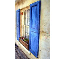 Summer TIme WIndow Photographic Print