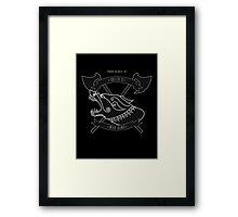 Rollo's war-band Framed Print