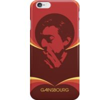 Serge Gainsbourg iPhone Case/Skin