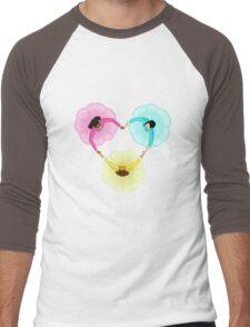 Schuyler Sisters Heart Men's Baseball ¾ T-Shirt