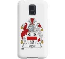 Curlee Coat of Arms / Curlee Family Crest Samsung Galaxy Case/Skin