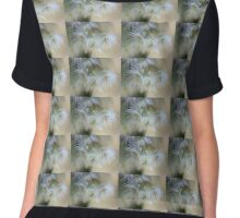 Hush - Eucalyptus Flowers  Chiffon Top