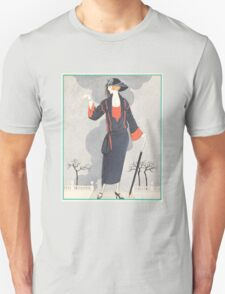 Vintage Art Deco Fashion T-Shirt