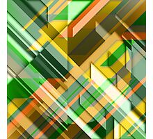 Linear Madness Photographic Print