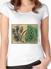 Packing Paper Women's Fitted Scoop T-Shirt