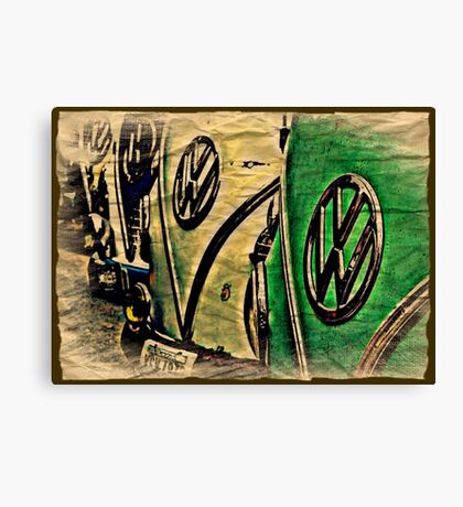 Packing Paper Canvas Print