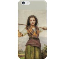 The Shepherdess - HDR iPhone Case/Skin