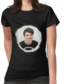 Danisnotonfire Whiskers Eclipse Shirt Womens Fitted T-Shirt