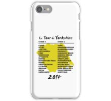 Le Tour de Yorkshire 2014 Back iPhone Case/Skin