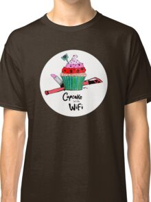 Cupcake with WiFi Classic T-Shirt