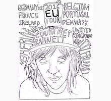 Courtney Barnett EU 2016 Tour 1 Unisex T-Shirt