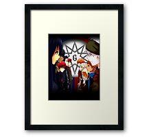 OC - The Ten Guardians: Civil War Framed Print