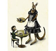 Kangaroo cafe Photographic Print