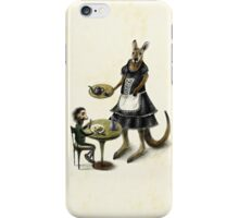Kangaroo cafe iPhone Case/Skin