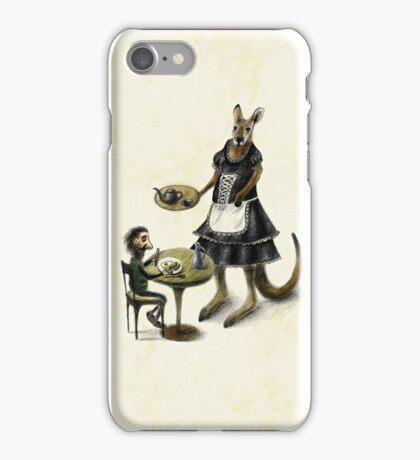 Kangaroo cafe iPhone Case/Skin