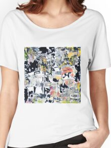 New York Streets No#5 Women's Relaxed Fit T-Shirt