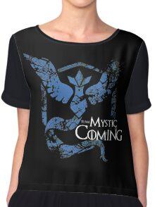 Team Mystic is Coming ( GoT + Pokemon GO! ) Chiffon Top