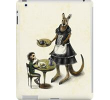 Kangaroo cafe iPad Case/Skin