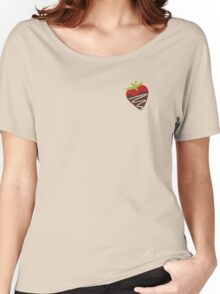 Chocolate Covered Strawberries Women's Relaxed Fit T-Shirt