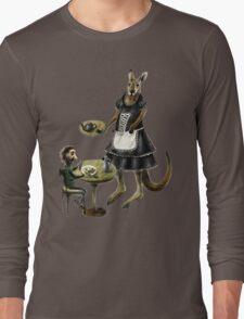 Kangaroo cafe Long Sleeve T-Shirt