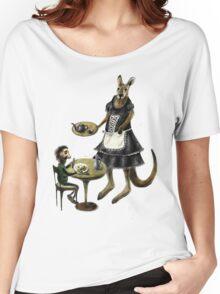 Kangaroo cafe Women's Relaxed Fit T-Shirt