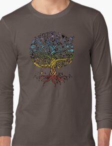 Floral tree beautiful, summer Long Sleeve T-Shirt