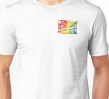 Rainbow flag (non-blurred) Unisex T-Shirt