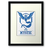 Pokemon Go : Team Mystic Framed Print