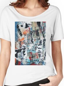 New York Streets No#6 Women's Relaxed Fit T-Shirt