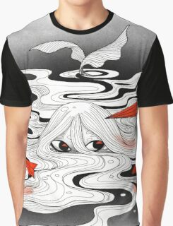 Red paper plane Graphic T-Shirt