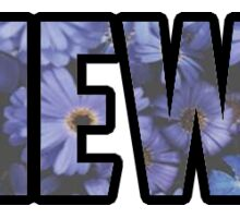 Views Floral Sticker