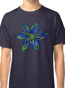 Blue Flower Classic T-Shirt