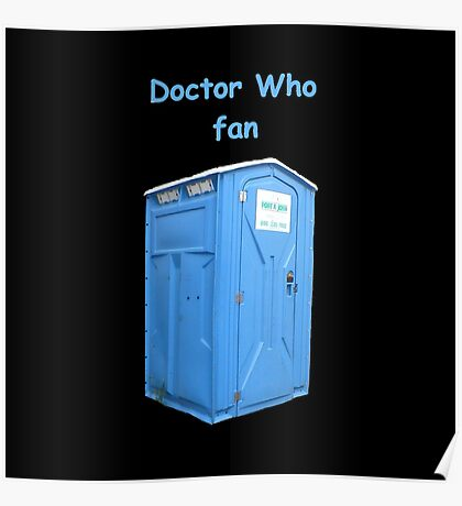 Doctor Who Fan Poster