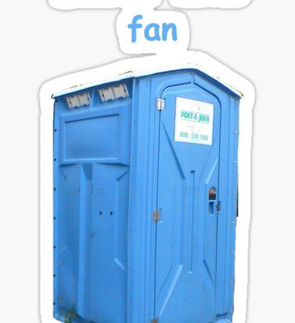 Doctor Who Fan Sticker