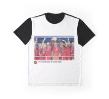 The Best Team Football of European Graphic T-Shirt