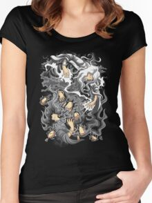Core Art No.8 Women's Fitted Scoop T-Shirt