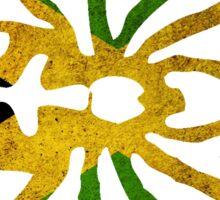 JAMAICA SPIDER FLAG  Sticker