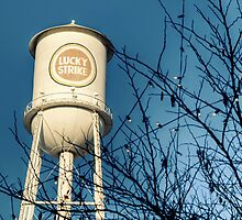 Lucky Strike Tobacco Water Tower by Kadwell