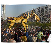 Beijing antics Poster