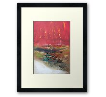 Elements 1 Fire & Earth Framed Print