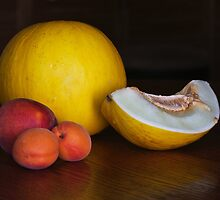Fruit on the table by Maryna Gumenyuk