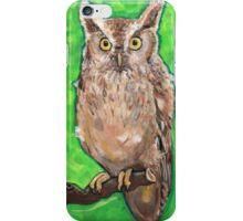 Screech Owl iPhone Case/Skin