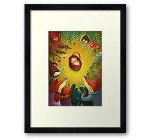 The Mystery Baby Framed Print