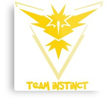 Team Instinct - Pokemon Go Metal Print
