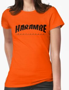 HARAMBE VINTAGE COLLECTION Womens Fitted T-Shirt
