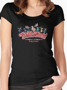 Walley World - America's Favourite Logo Women's Fitted Scoop T-Shirt