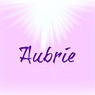 Aubrie in pink  by Deborah McGrath