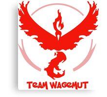 Team Wagemut - Pokemon Go Canvas Print