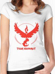 Team Wagemut - Pokemon Go Women's Fitted Scoop T-Shirt