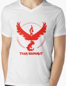 Team Wagemut - Pokemon Go Mens V-Neck T-Shirt